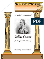 Julilus Caeser - Bio and Lesson Activities by Donnette Davis, St Aiden's Homeschool
