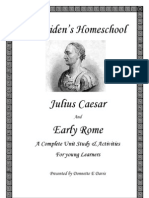 Julius Caesar & Rome Unit Study by Donnette E Davis Early Learners
