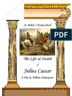 The Life and Death of Julies Caesar Play by William Shakespeare by Donnette Davis, St Aiden's Homeschool