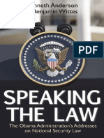 Speaking the Law (Introduction),  by Kenneth Anderson and Benjamin Wittes