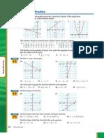 Algebra One Linear Equations Practice