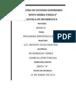Programa Cliente