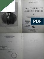 Jones, e. Vida y Obra de Sigmund Freud. Vol i (1856-1900)