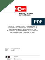 Plataforma de Servicios Pki