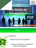 Styles Management (RedOne)