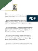 Presidente de la República-Plutarco Elias Calles
