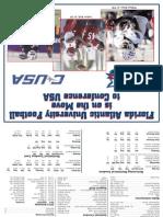 FAU Football Spring Media Guide