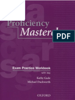 Proficiency Masterclass Exam Practice