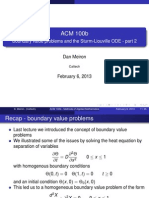 Boundary Value Problems Part 2