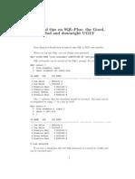 SQL-tips