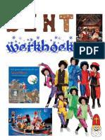 Sint Werkboek met Sinterklaas werkbladen samengesteld door schoolgoochelaar Aarnoud Agricola uit Utrecht
