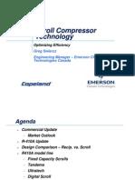 Scroll Compressor Technology Optimizing Efficiency Feb08