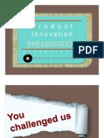 Product Innovation Presentation