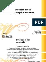 Evolucion Tecnologia Educativa
