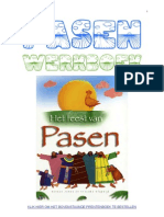 Pasen werkboek met Kinderbijbel verhalen en werkbladen van schoolgoochelaar Aarnoud Agricola uit Utrecht