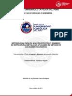 Carrasco Angulo Cristian Estructuras Metalicas Elementos Finitos