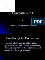 Computer RPG