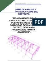 Informe de Calculo Analisis Estructural
