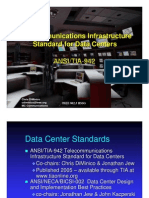 Telecommunications Infrastructure Standard for Data Centers ANSI/TIA-942