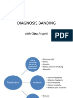 47766466 Diagnosis Banding Sinusitis