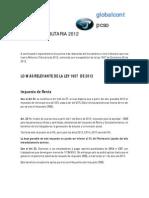 Análisis Ley 1607 de Diciembre 26 de 2012