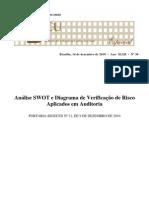 Análise SWOT e Diagrama de Verificação de Risco