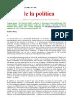 Kurz, Robert - El Fin de La Politica, Robert Kurz