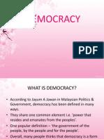 Democracy(1st Task)