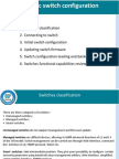 Switching Technologies- 2 (Basic Switch Configuration)