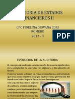 Audit. Financiera II - 1