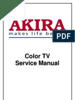 Akira Tv CT-21CCS5CPT Chasis ETE-2