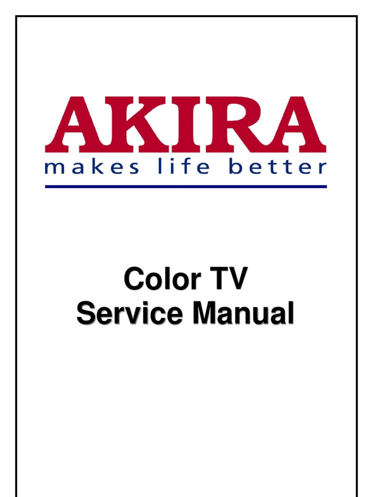 Akira Tv CT-21CCS5CPT Chasis ETE-2 | Cathode Ray Tube | Analog To Digital  Converter