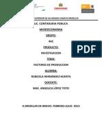 Actividad 3 (Factores de Produccion)