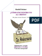 Rudolf Steiner - Como Encuentro Yo al Cristo.pdf