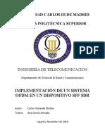 Implementacion de Un Sistema Ofdm en Un Dispositivo Sff Sdr