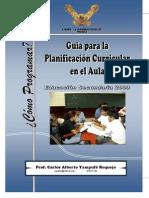 Sesión de Aprendizaje guia 2009
