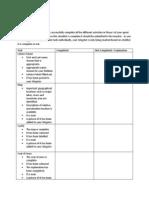webquest checklist