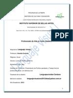 Programa de Lenguaje Visual I 2012