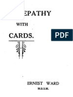 Ernest Ward - Telepathy With Cards