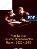 Dahl, Per F. - From Nuclear Transmutation to Nuclear Fission (1932-1939)