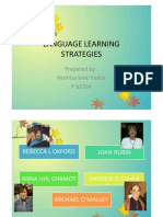Learning Language Strategy Flip Book