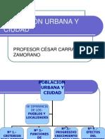 Población y ciudad