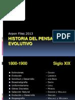 Historia PensamEvolutivo