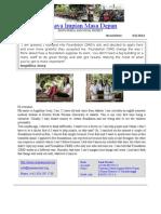 2013 Yayasan Newsletter
