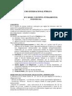 Derecho Internacional Publico-resumen