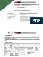 Unidad 1 Planificacion Curricular