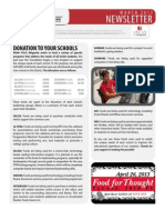 FGUS March 2013 Newsletter
