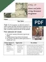 Dedato - Juliet Living Monument Assignment