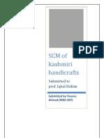 scm of kashmiri handicrafts