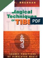 Magical Techniques of Tibet - Brennan